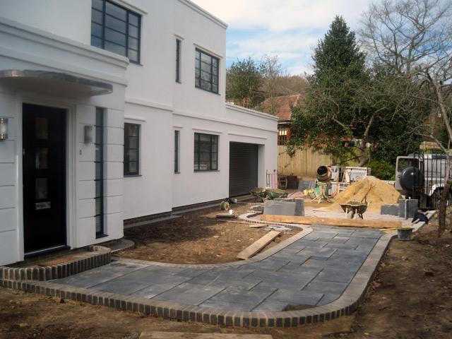 Grand designs art deco house project jason weir for Art deco house plans