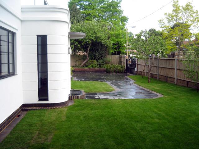 Grand designs art deco house project jason weir for Grand designs garden